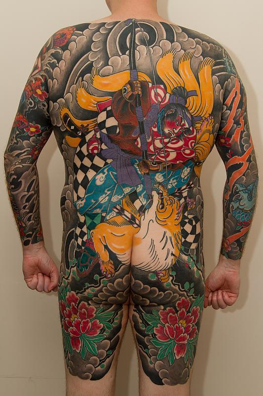 Kuniyoshi Backpiece