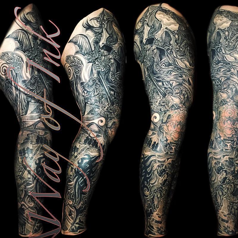 My leg sleeve by Duong