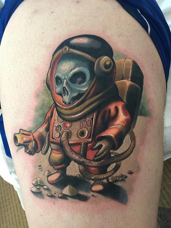 Dead cosmonaut by Will Gonzalez
