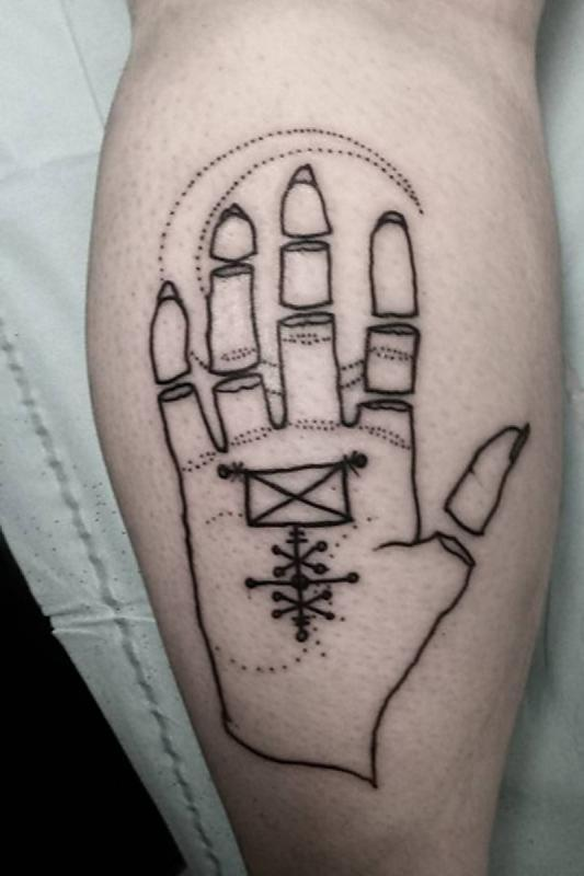 chopped hand