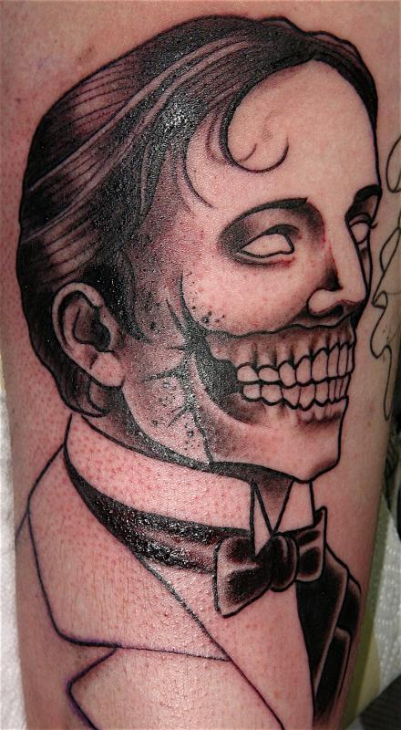 man skull in prog