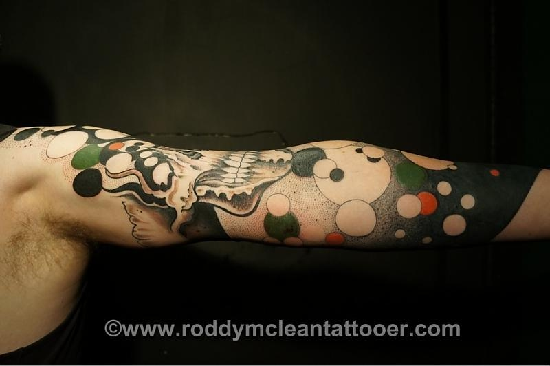 Tattoos by Roddy McLean 2013