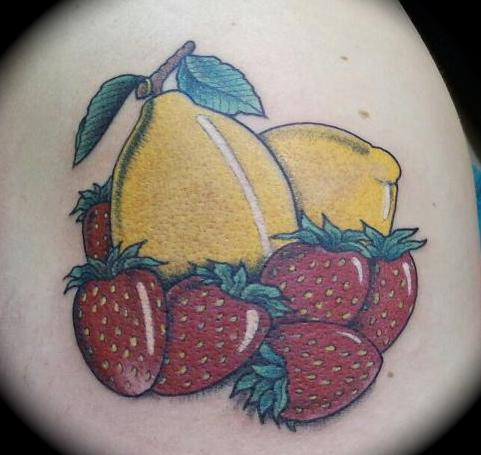 Lemons, Strawberries
