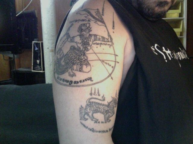 New Sak Yant Tattoo