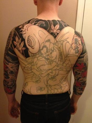 Bring life back to an old back piece