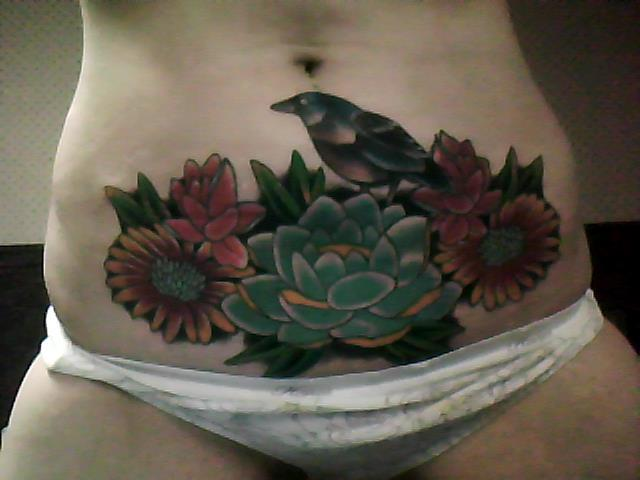 Finished Cover-up