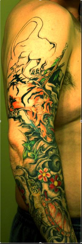 Partial Sleeve