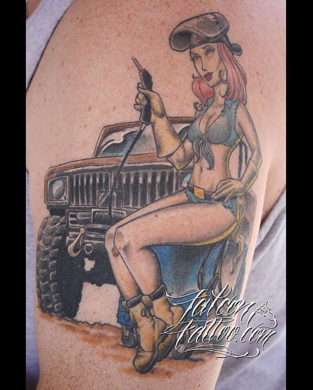 scout tattoo print