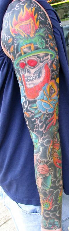 Irish sleeve