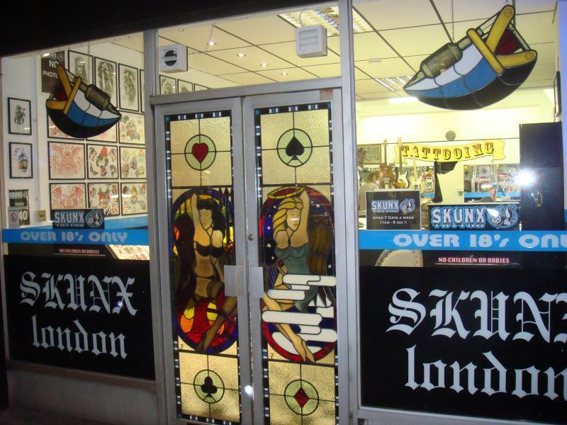 Skunx Tattoo Shop Front