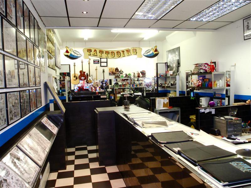 Skunx Tattoo Working Areas