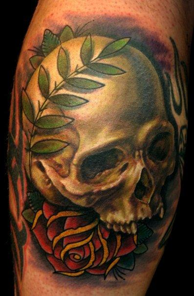 nate beavers skull and rose