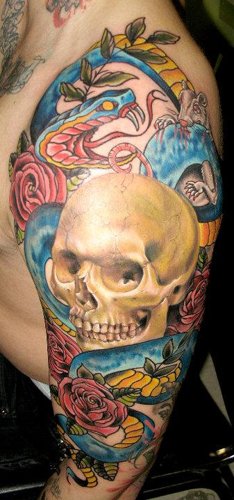 nate beavers skull and snake