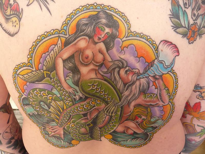 Triton and Mermaids