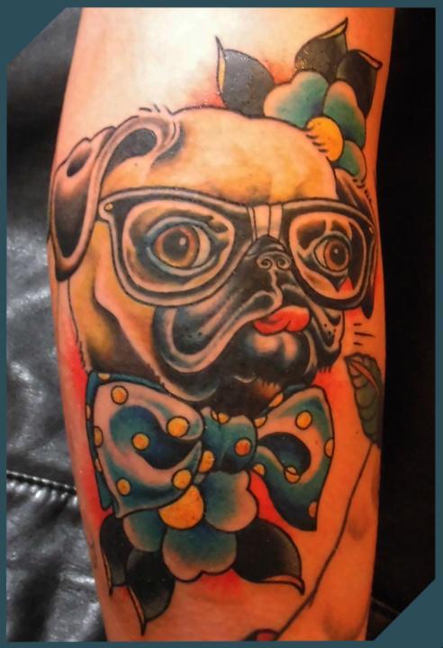pug, Brian Kelly, Rose of No Man's Land Berlin