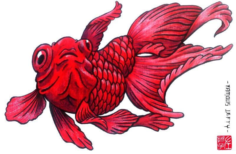 fish tattoo famous lefty