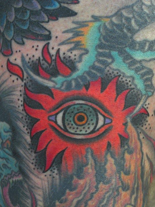 Frankie Caraccioli eye