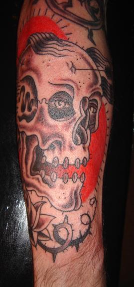 skull laughing