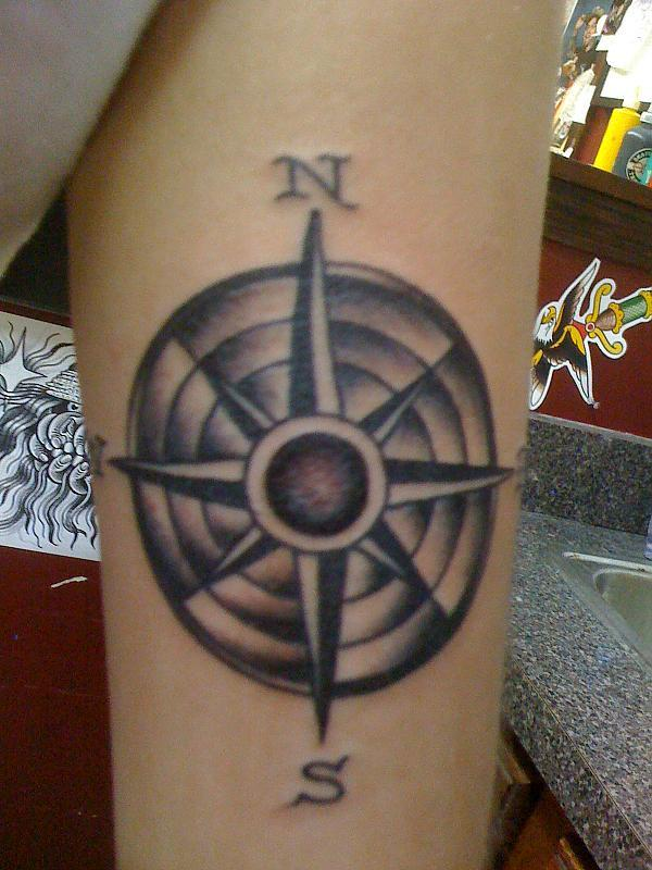 Compass on a Navy girl