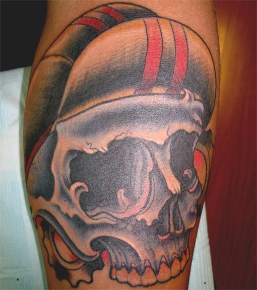 Cyclist Skull