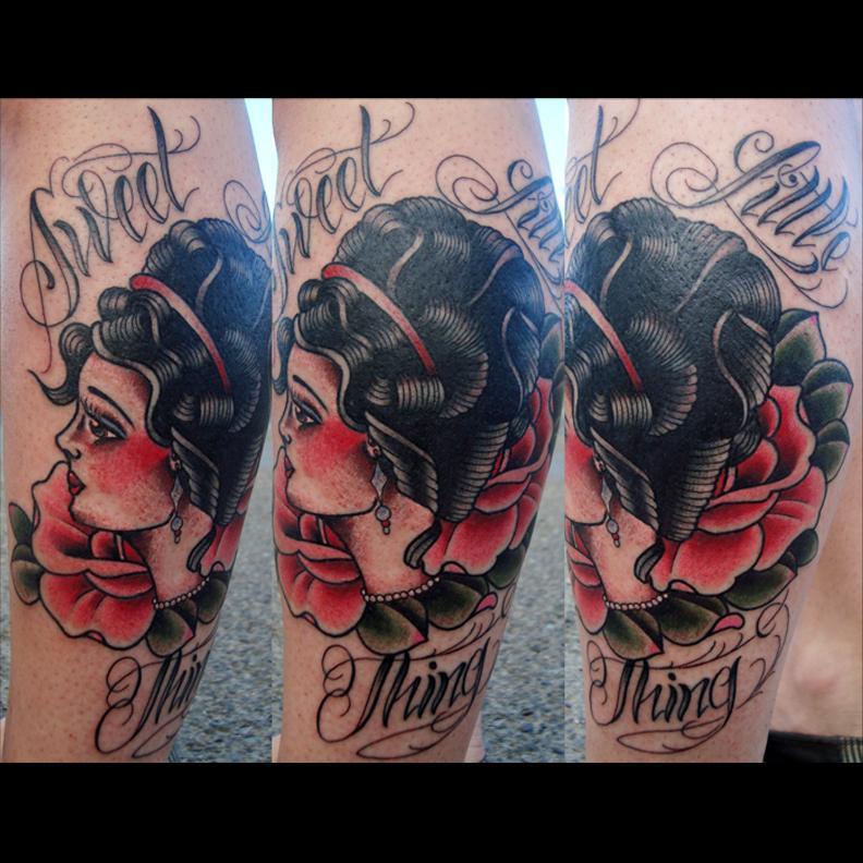 Tattoo by Ollie XXX