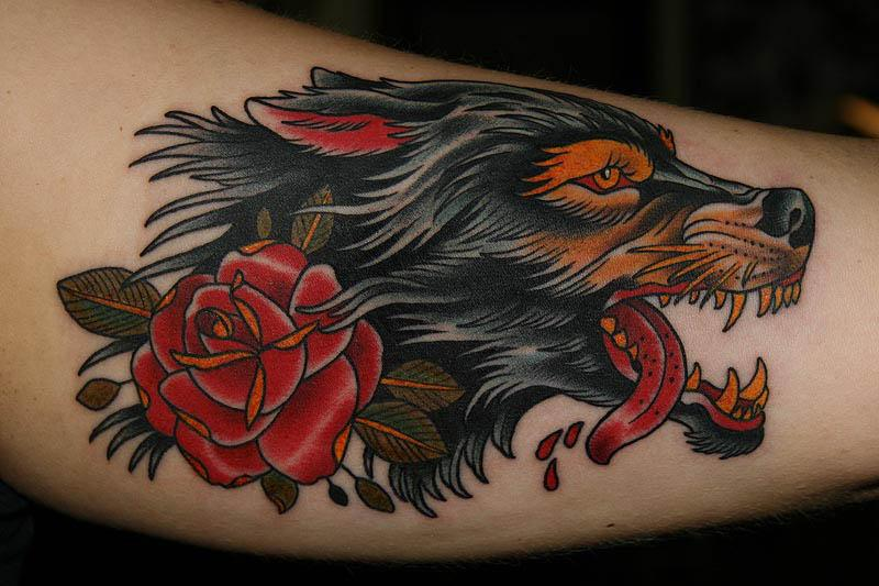 wolf rose