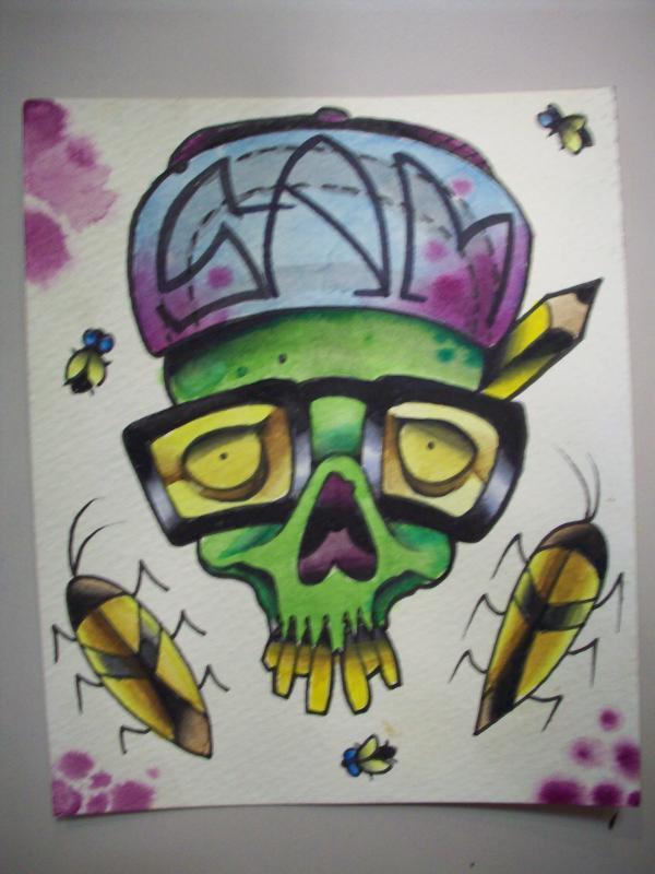 watercolor by sam laurent