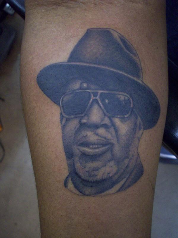 bng portrait on forearm