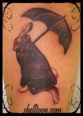 bunny umbrella