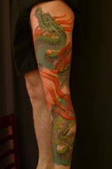 Dragon leg piece