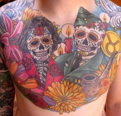 brian chest day of the dead chest