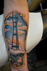 sutro tower san francisco ross k jones tattoo