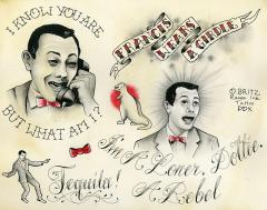 Pee Wee Herman Flash