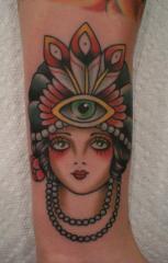 gypsy with eye