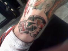 Jef Whitehead skull