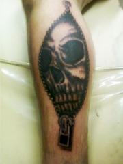 zipper skull
