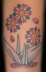 cherry blossoms tattoos