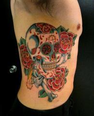 sean skull roses