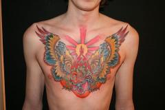 Wingy Heart Chest