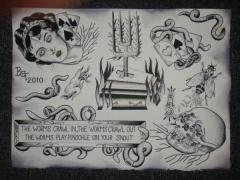 Folklore of Death Split