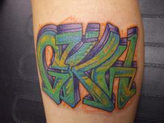 lettering billy flip mccoy spike-o-matic tattoo 651 s.park st. madison wi. 53715 608-316-1000 32