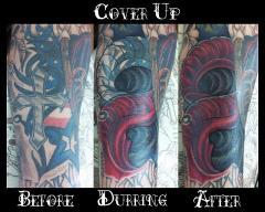 Wierd Cover Up