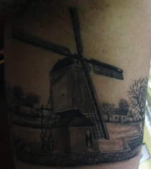 Windmill freehand