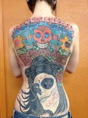 My Back Tattoo by Bob Simmons