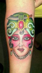 gypsy lady head