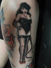 Thick Pin Up