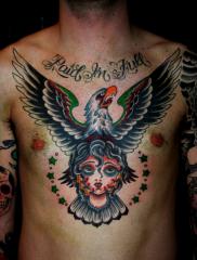 Eagle Girl head