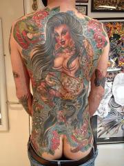 Valerie vargas back piece