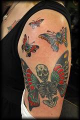 skull butterflies stacie
