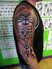Polynesian tribal